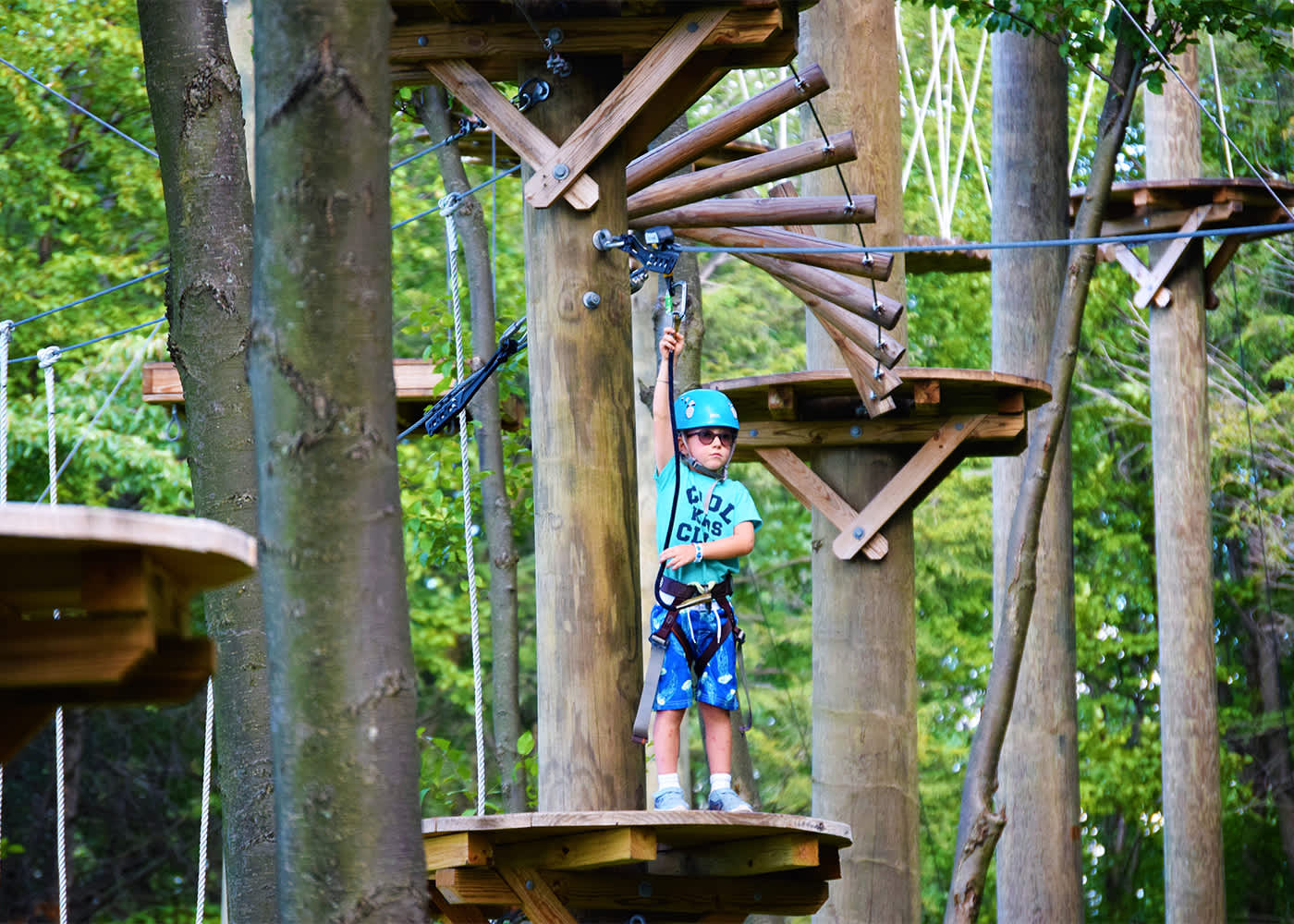 blue mountain resort- summit aerial park | palmerton, pa 18071