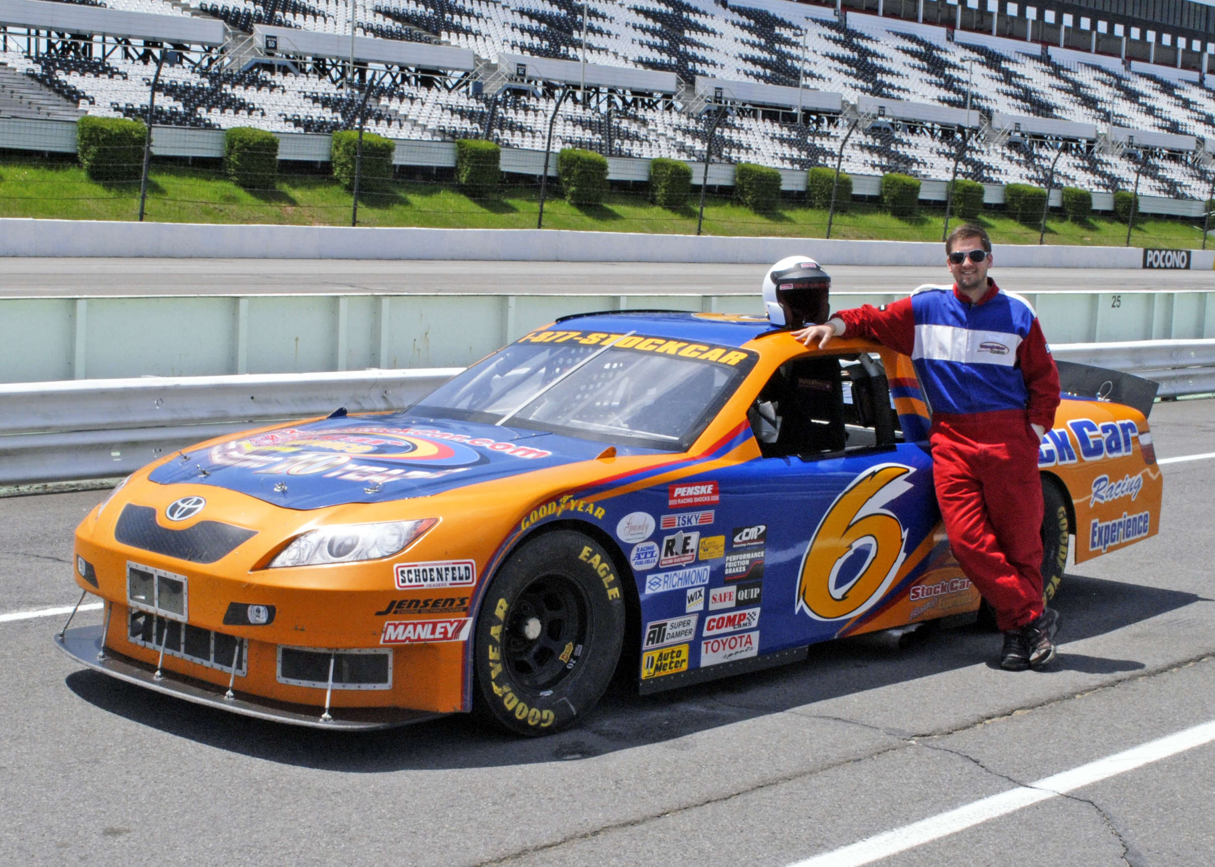 Stock Car Racing Experience at Pocono Raceway | Long Pond, PA 18334