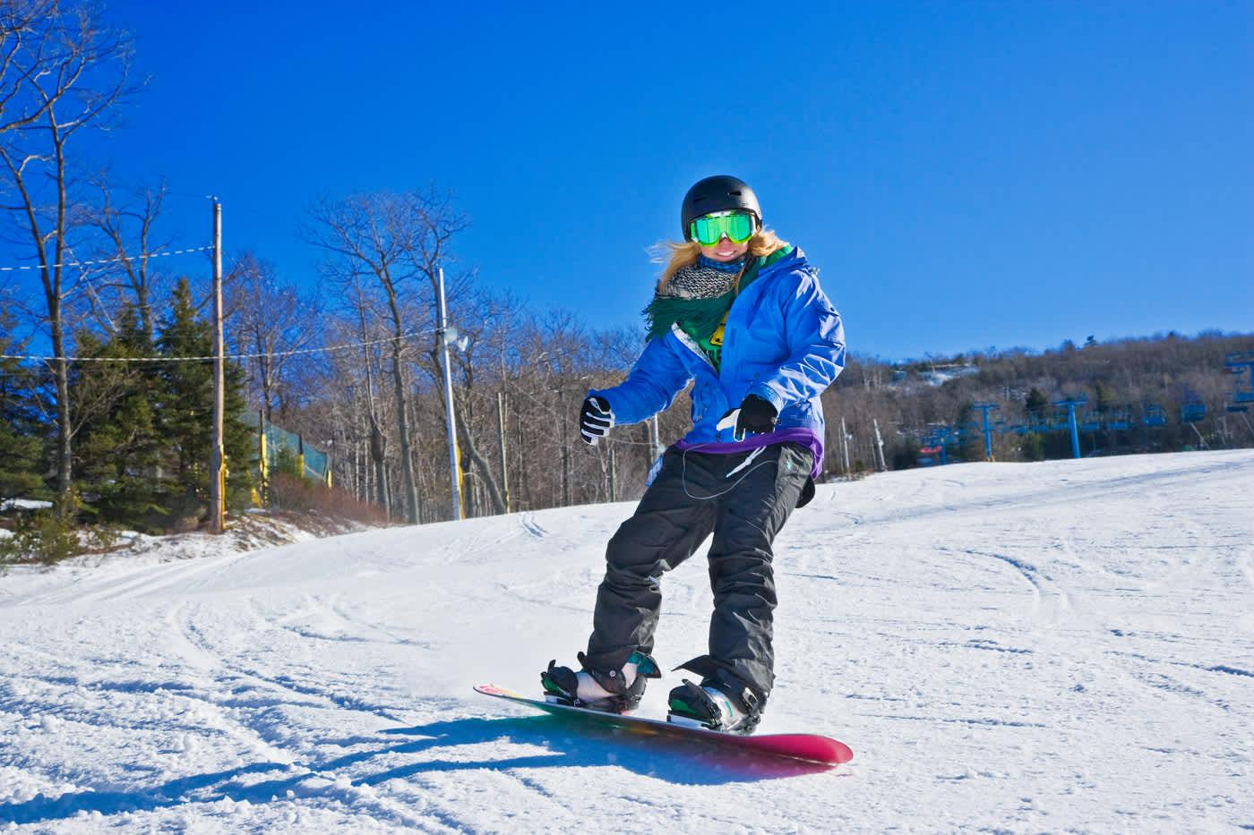 camelback mountain resort - snowboarding | tannersville, pa 18372
