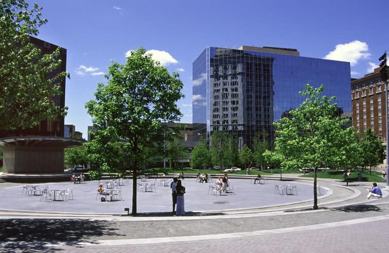 Rosa Parks Circle Parks In Grand Rapids Mi