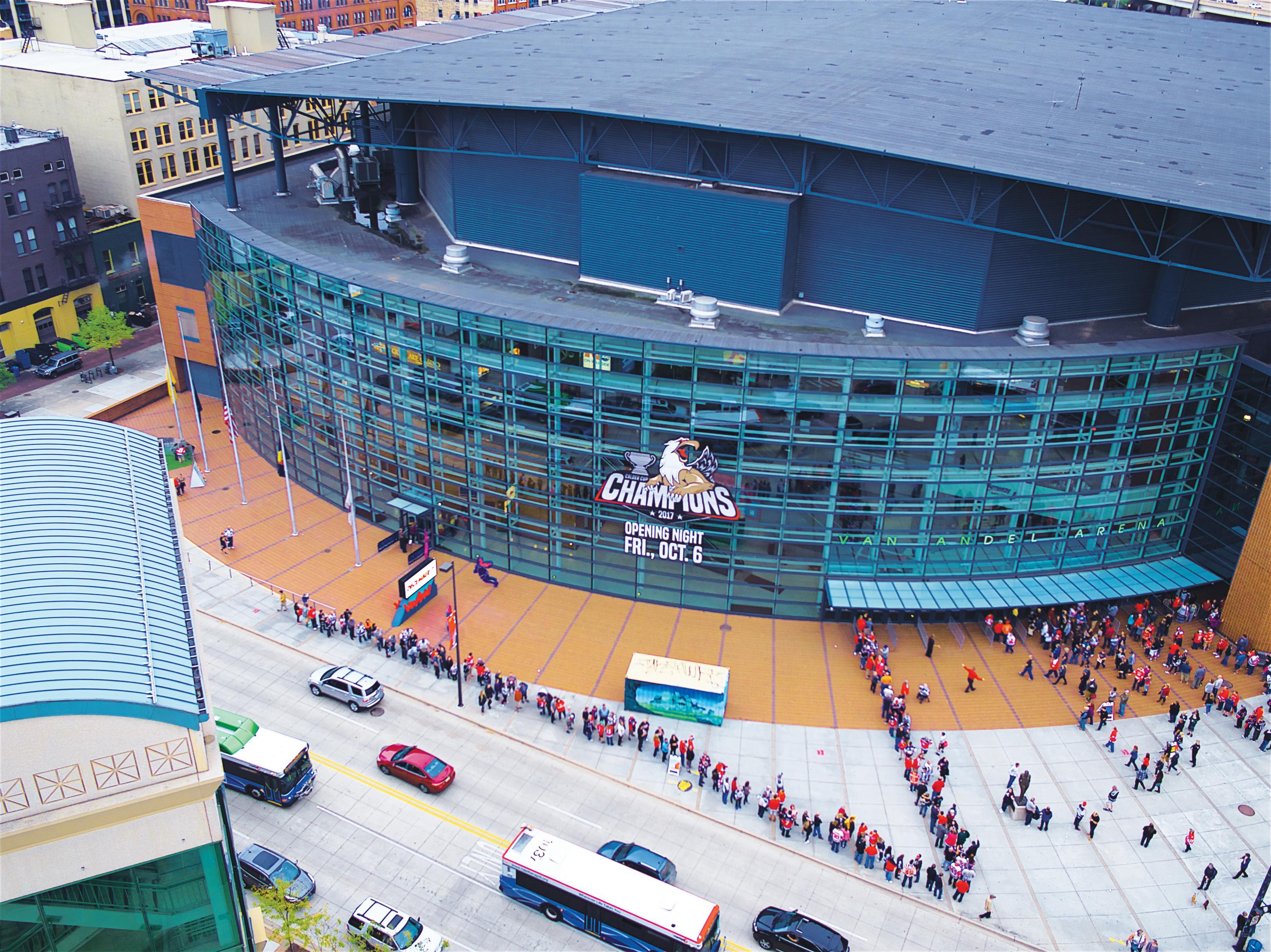 Van Andel Arena Events 2020.Van Andel Arena Nightlife In Grand Rapids Mi