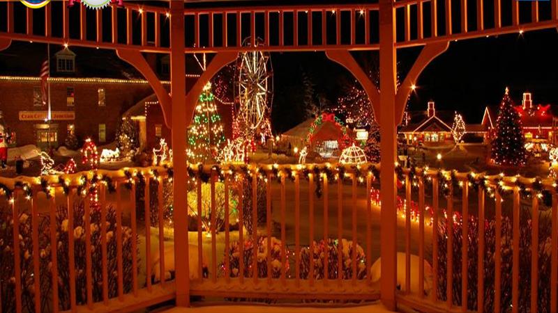 Edaville Christmas Festival of Lights