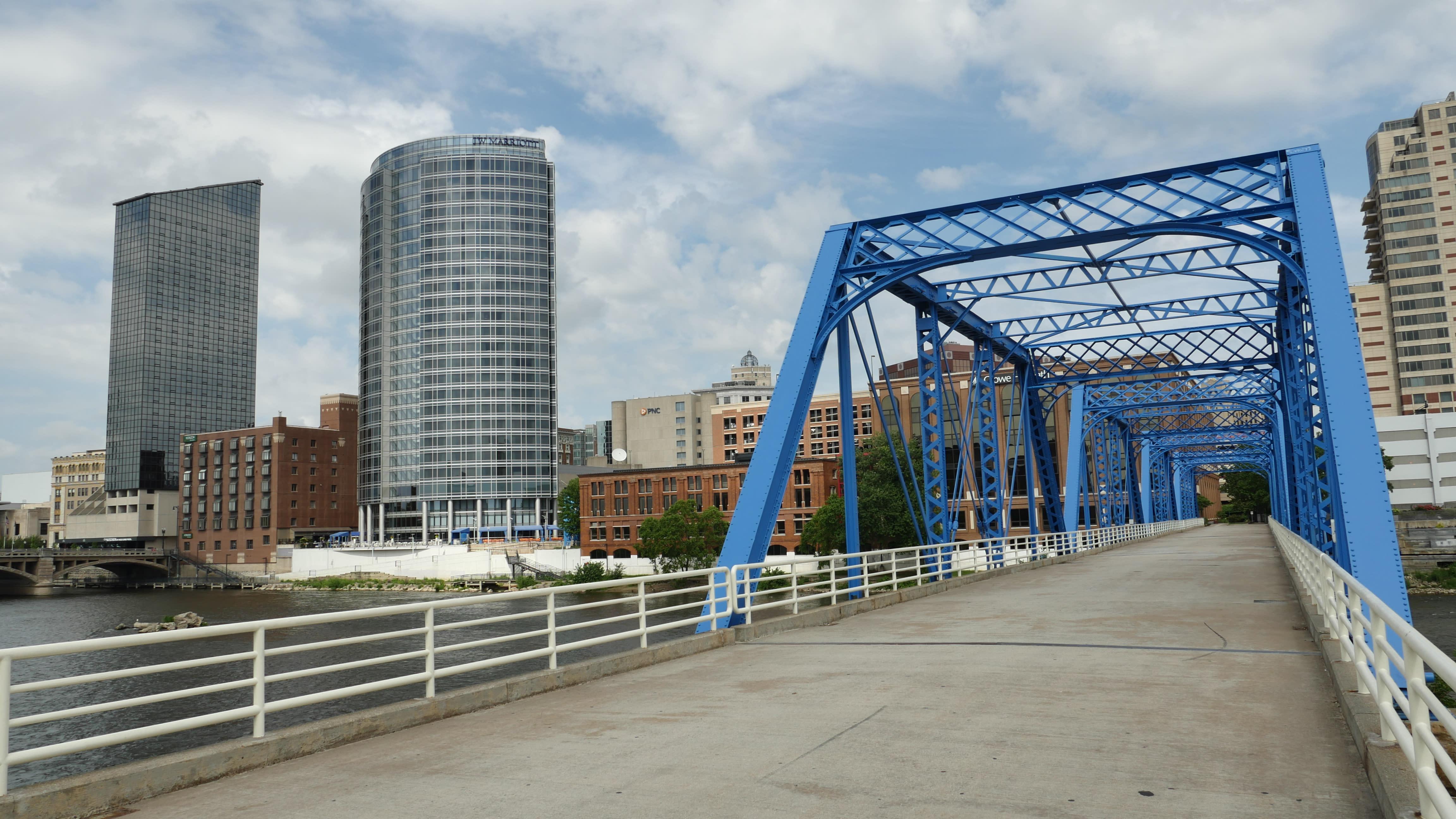 The Blue Bridge Parks In Grand Rapids Mi