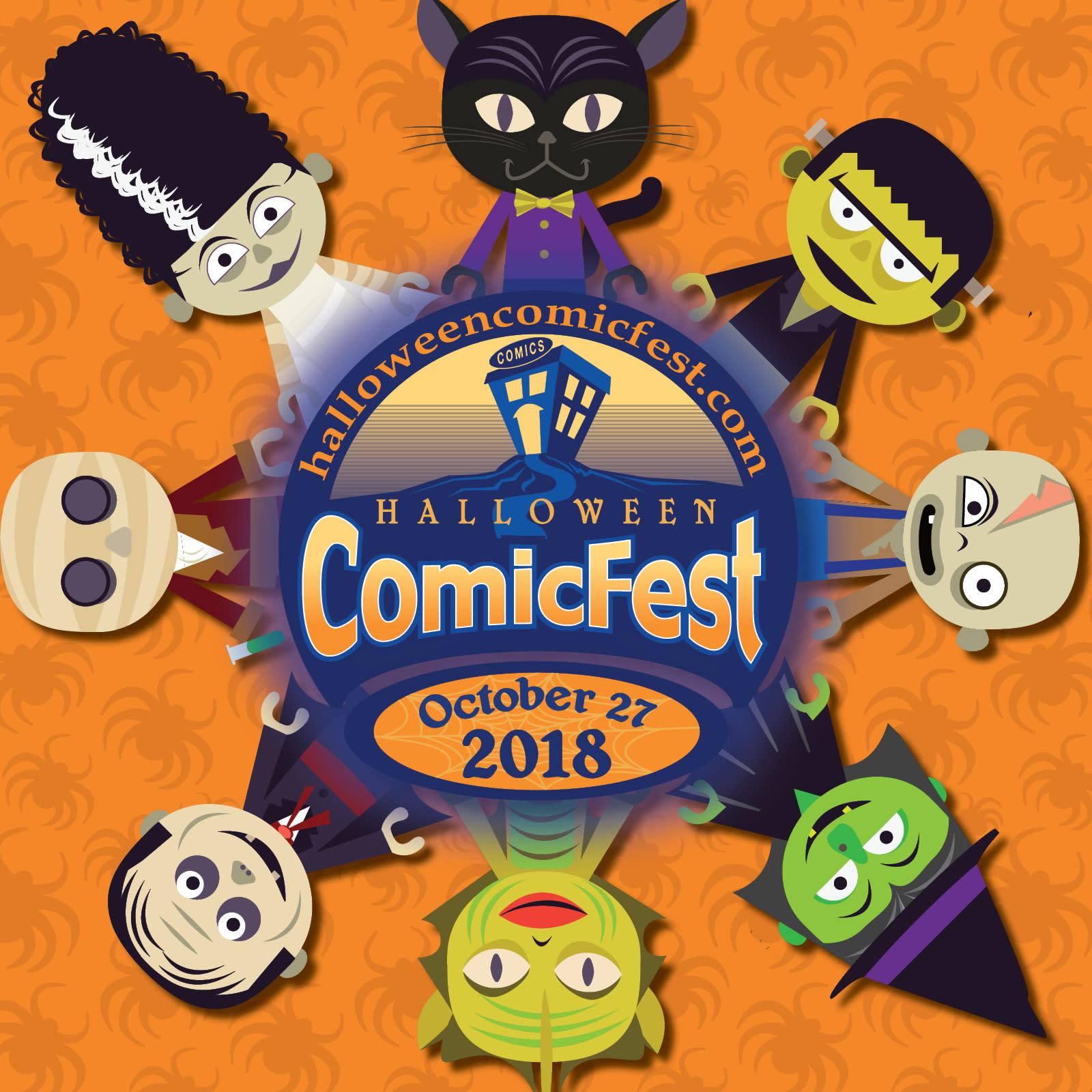 halloween comicfest 2018