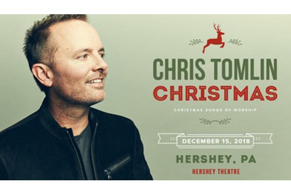 chris tomlin christmas coming to hershey