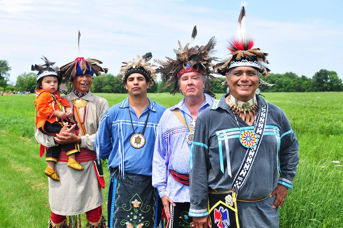 Ganondagan hosts 16th annual Native American Winter Games