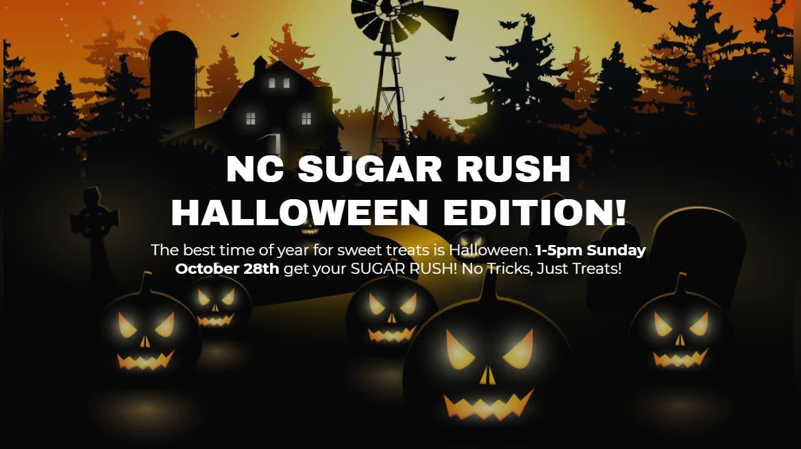 nc sugar rush halloween edition raleigh nc 27601