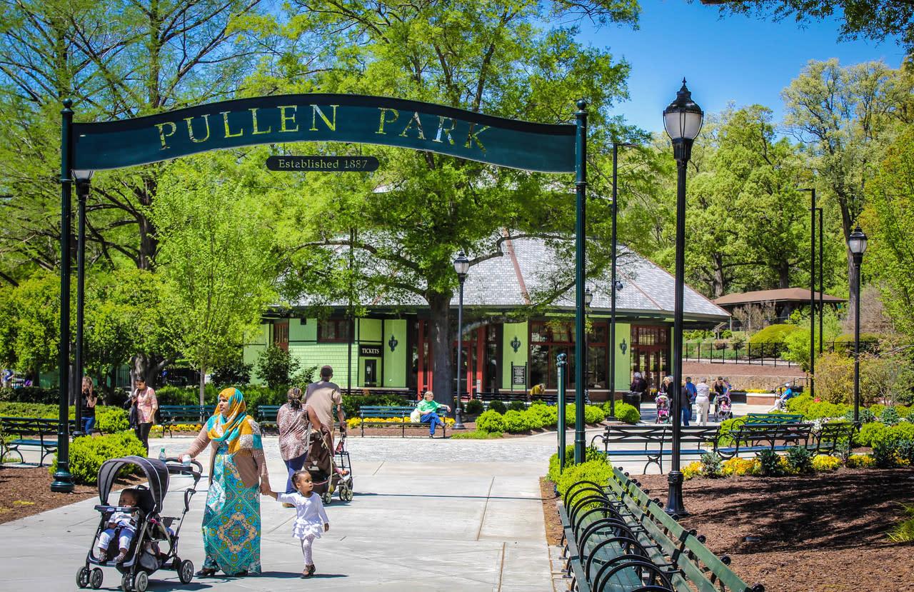 Pullen Park Raleigh Nc 27606