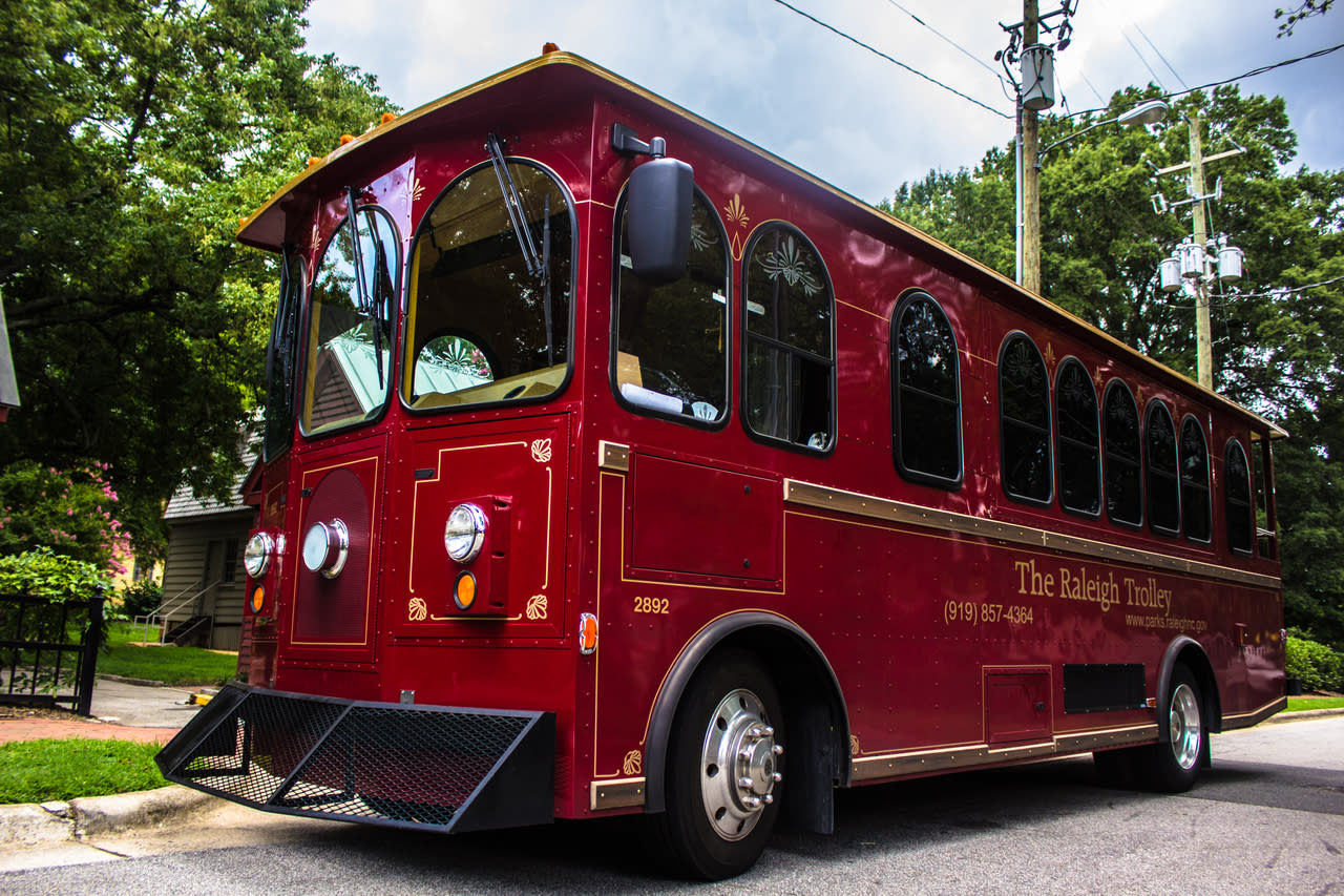 historic raleigh trolley tours raleigh nc 27604