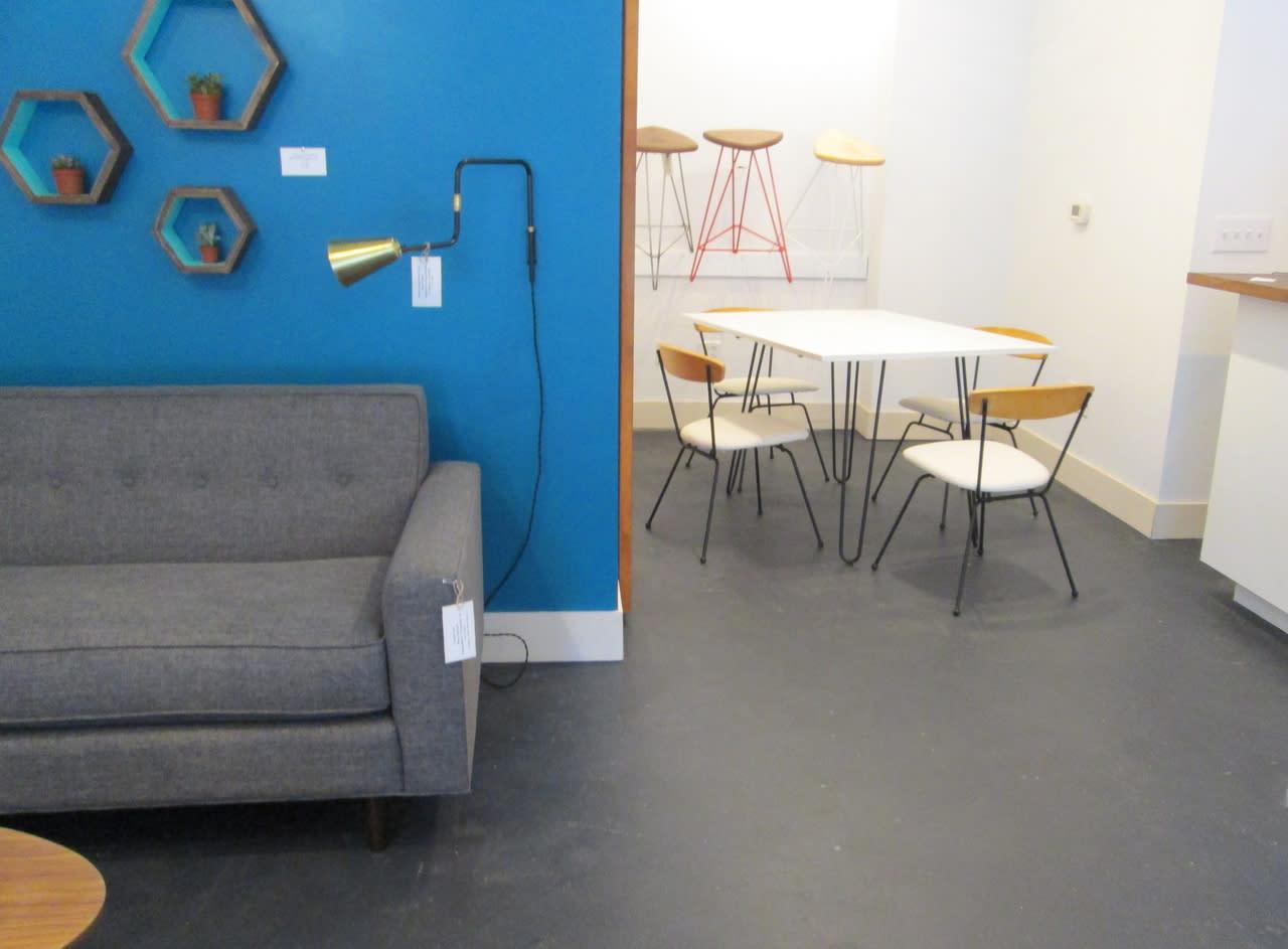 Retro modern furnishings raleigh nc 27601