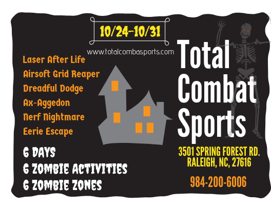 666 halloween response team at total combat sports raleigh nc 27616