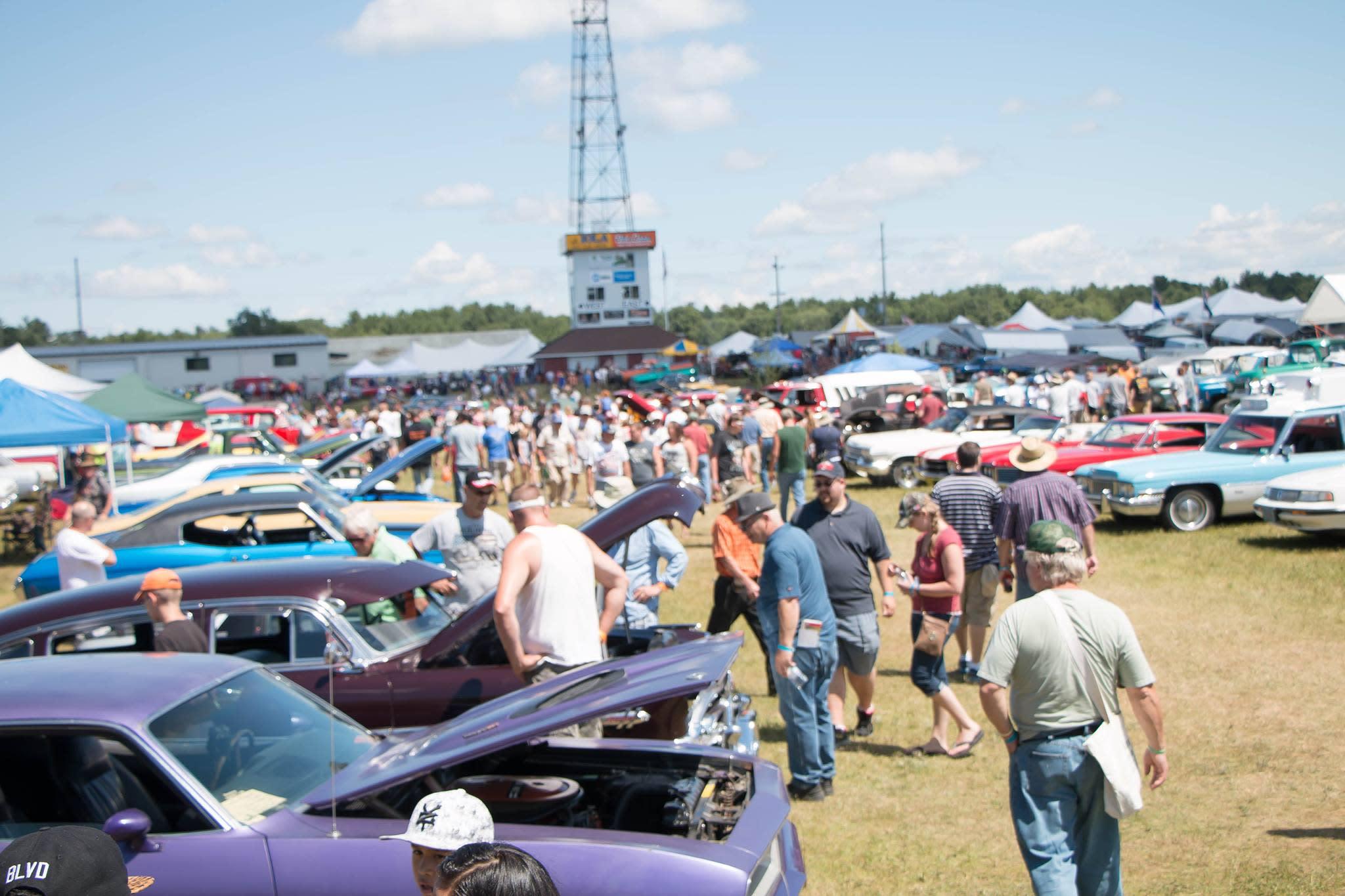 Iola Car Show - Wisconsin classic car show calendar