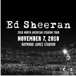 Ed Sheeran: 2018 North American Stadium Tour