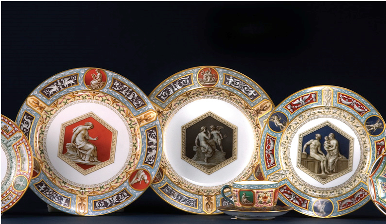 Imperial Designs: From the Habsburg's Herend to the Romanov's Faberge
