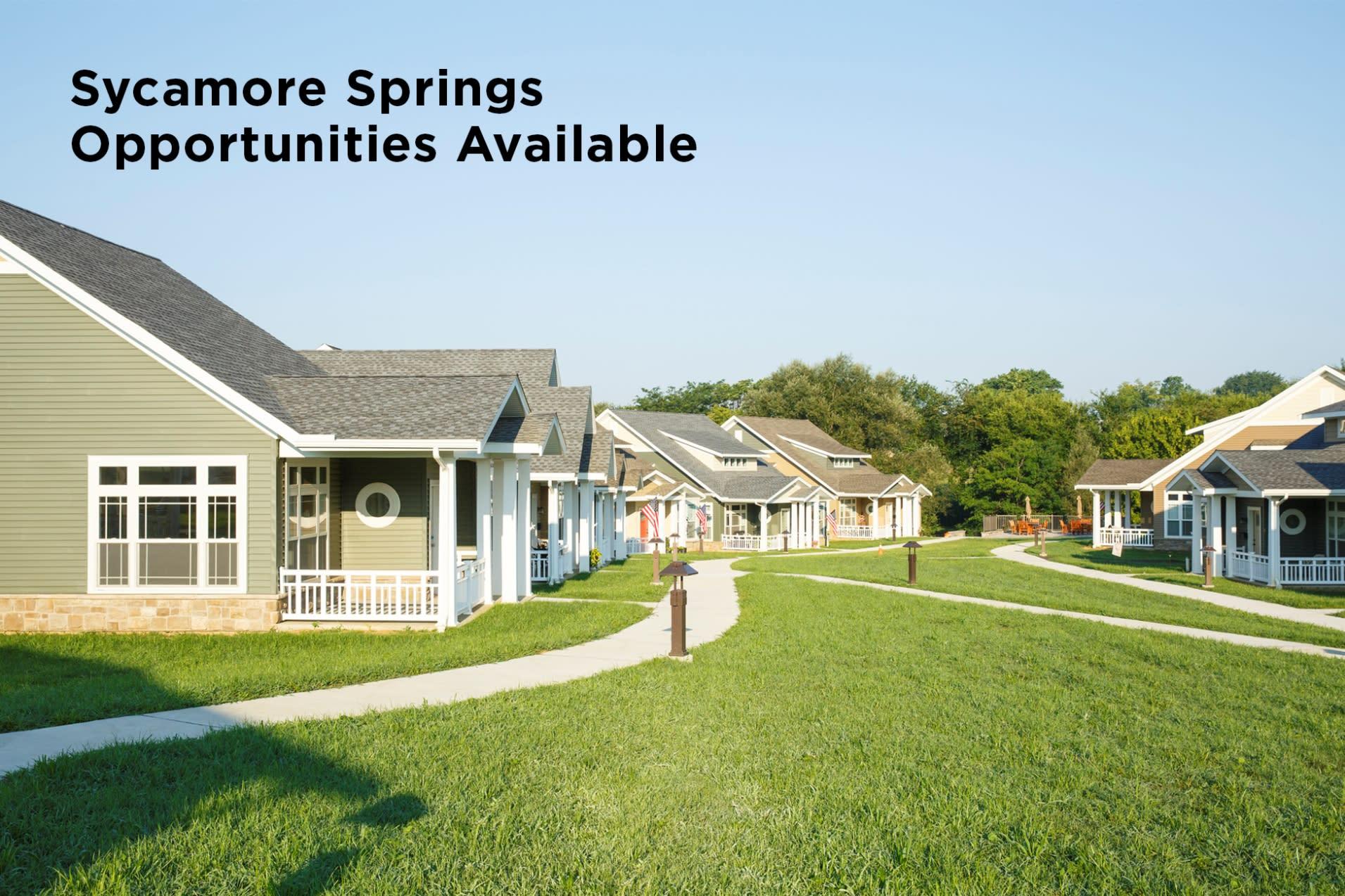 sycamore springs - Garden Spot