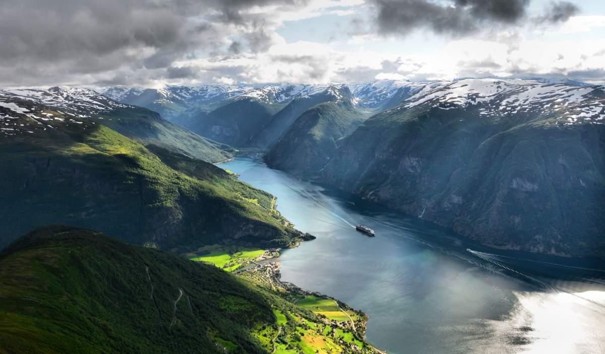 Sognefjord Plus Fjords NorvègeLe Profond Des Long Et En b7gyf6