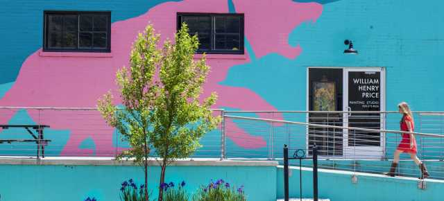 Pink Dog Creative, River Arts District