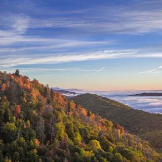 2015 Fall Color: East Fork Overlook