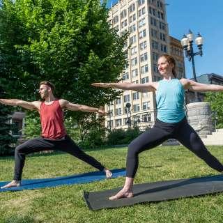 Yoga in Asheville
