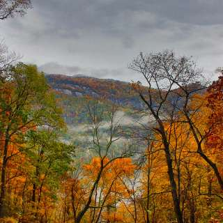 2015 Fall Color: Hickory Nut Gorge