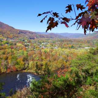 Lover's Leap in Fall