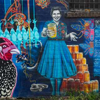 Mural Story: Chicken Alley