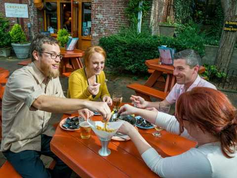 The Best Outdoor Dining Patios In Asheville