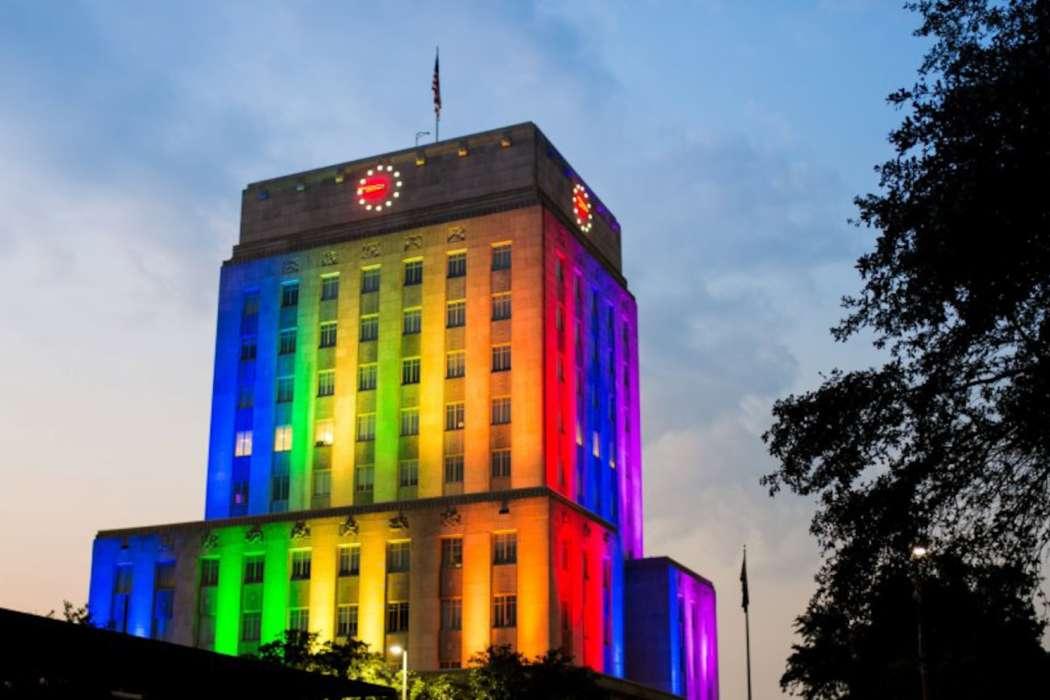 Pride City Hall 2012