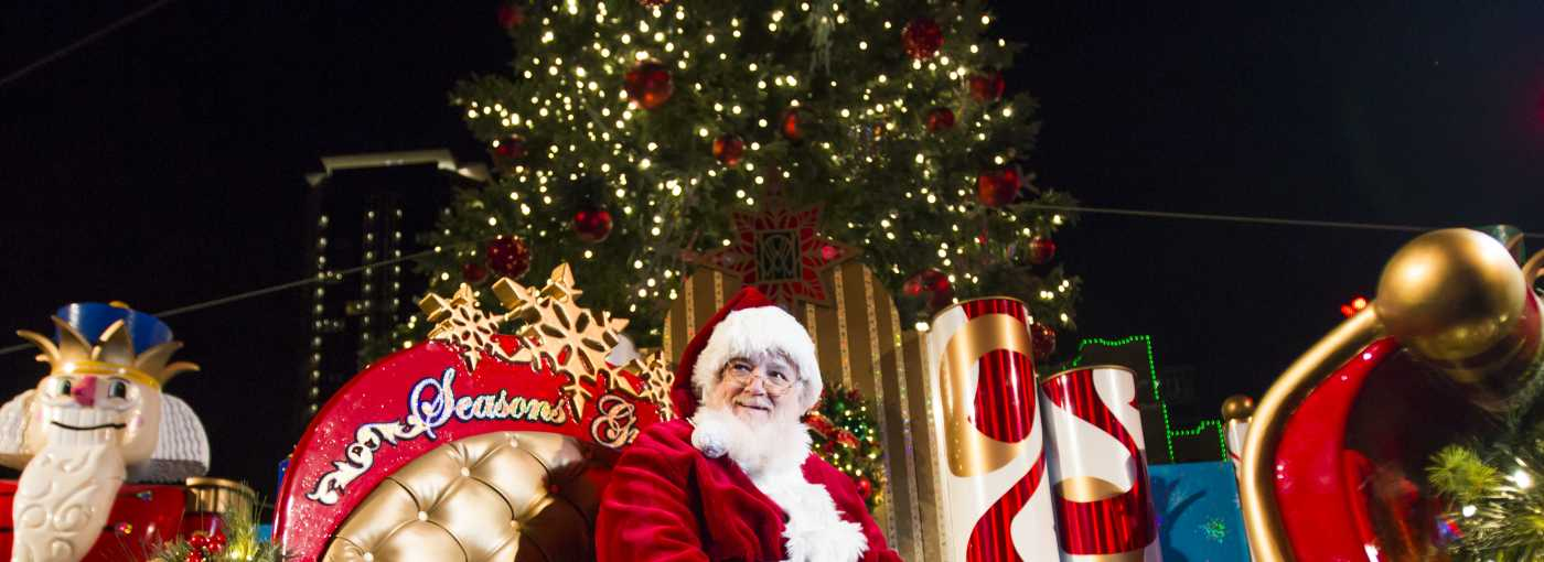 where to find santa in fort worth