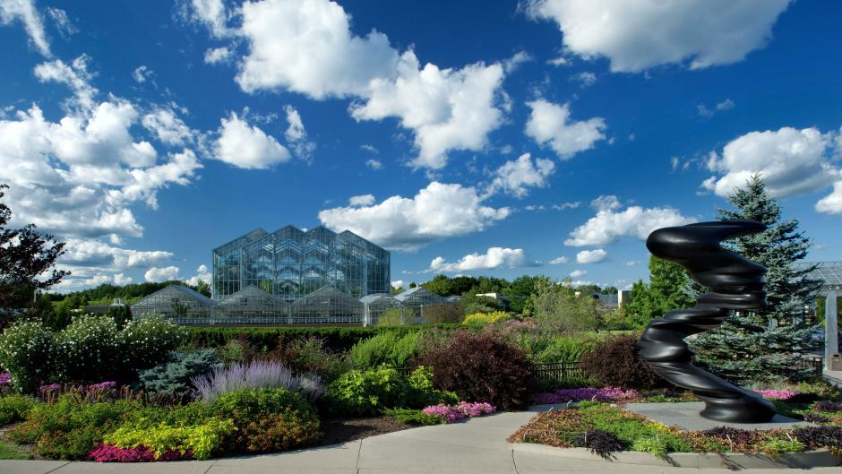 With wide indoor halls and paved outdoor paths, Frederik Meijer Gardens & Sculpture Park is easy to get around on foot or wheelchair.