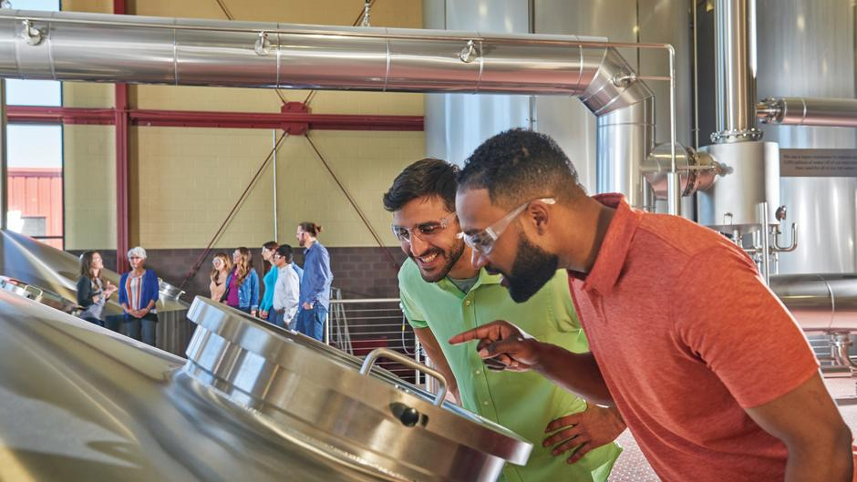 Go behind the scenes at local breweries and see how your favorite craft beers come together.