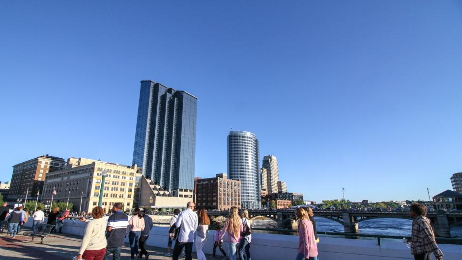 Grand Rapids offers plenty of hotels, restaurants, shops, and museums that are within walking distance of the convention campus.