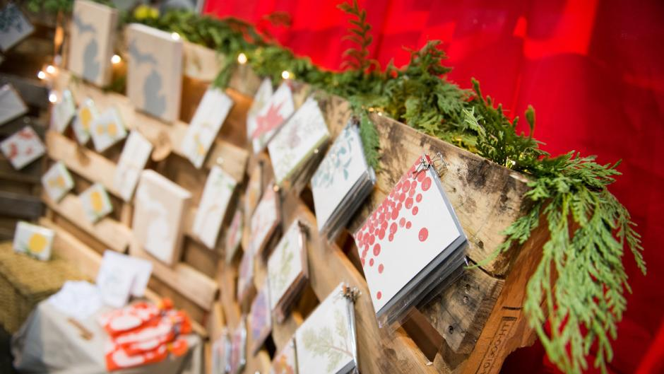 Find all sorts of handmade, artisan goods at this year's Holday Artists Market.