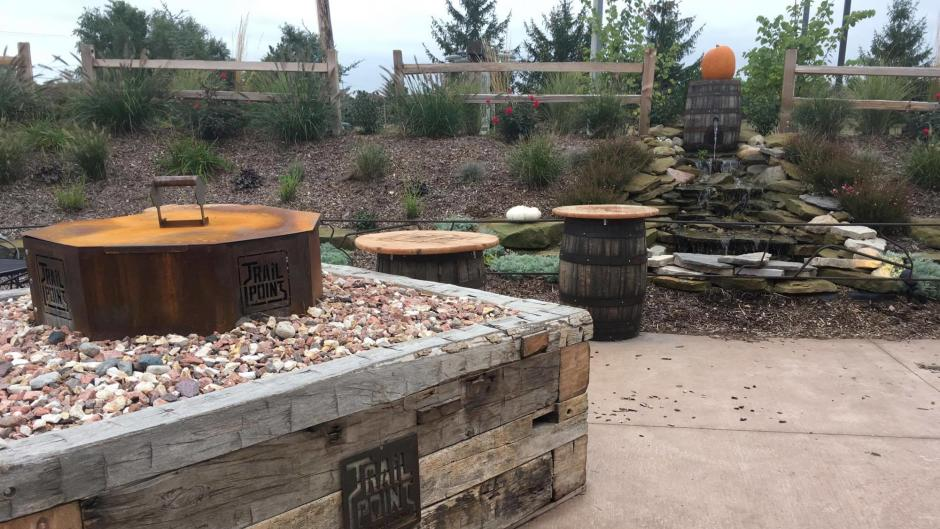 Trail Point Brewery in Allendale Patio & Firepit