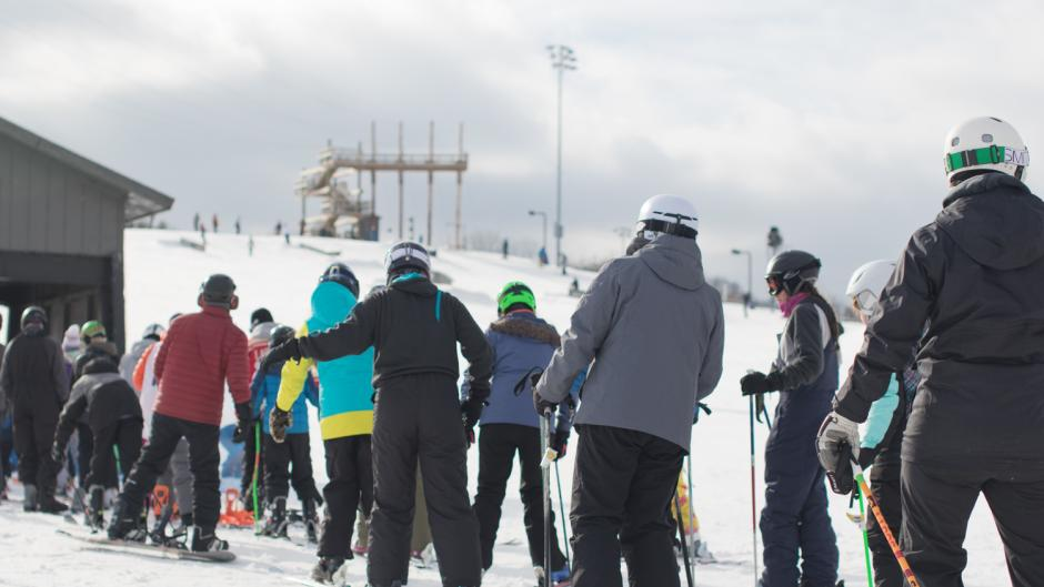 Cannonsburg Ski Area holds frequent events, all year round including ski races, weddings, and group parties.