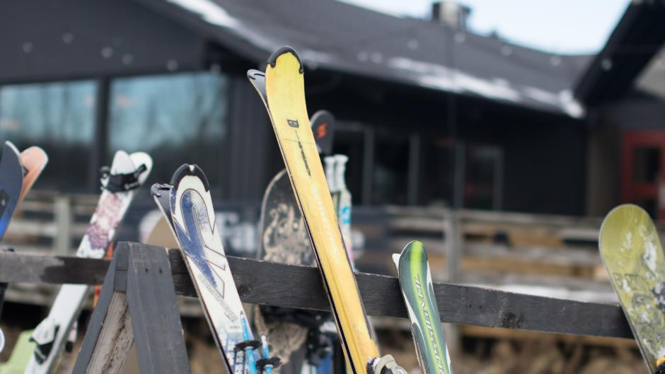 Cannomnsburg Ski Area offers private and group lessons for skiers and snowboarders of all skill levels.