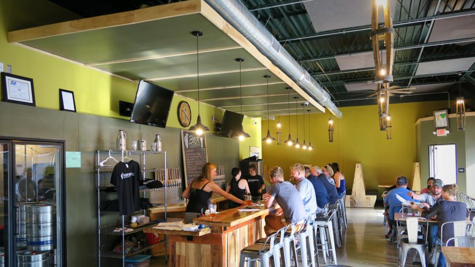 Thornapple Brewing's menu selections and variety of craft beverages make it a great place to gather.