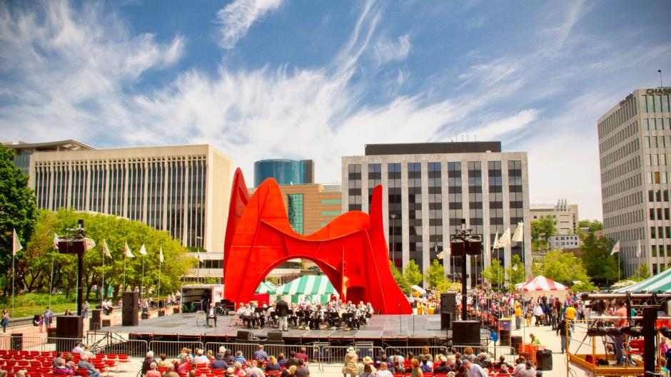 Grand Rapids celebrates its 50th Festival of the Arts this year.