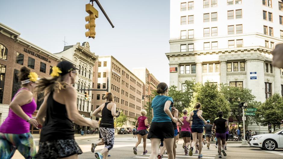 Grand Rapids' locals know the best running routes.