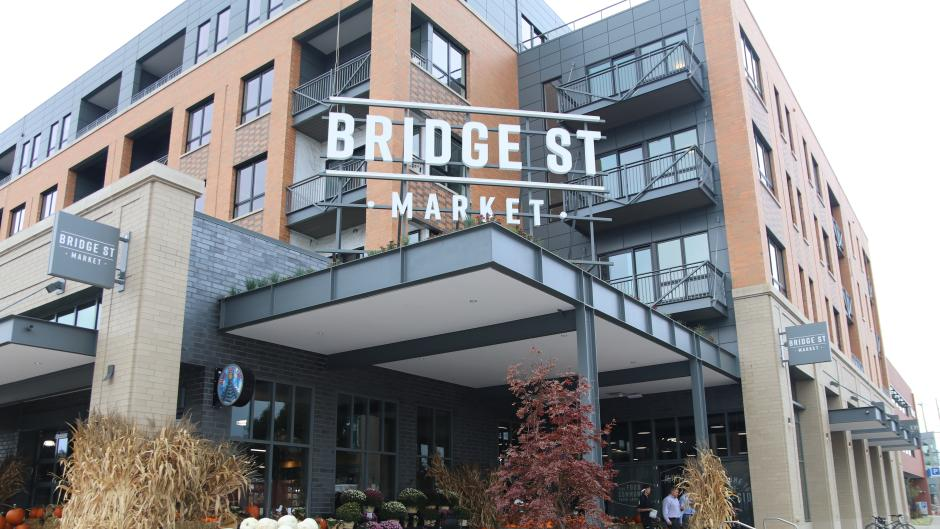 Bridge Street Market is only a short bus ride away from the northern end of downtown.