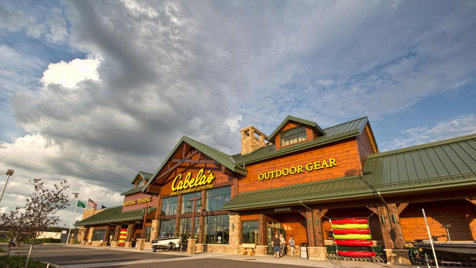 Cabela's is just one of many shopping experiences available in Grandville.
