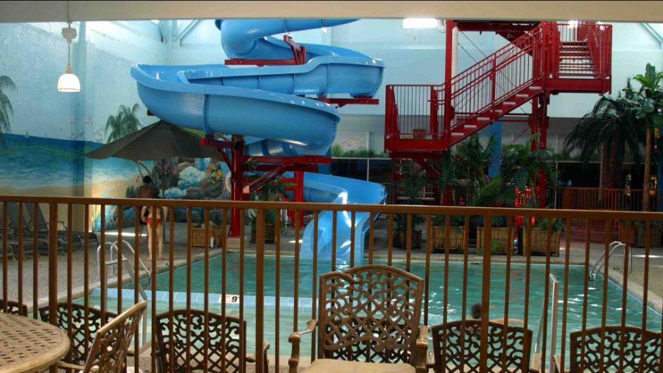 Poolside at Castaway Bay