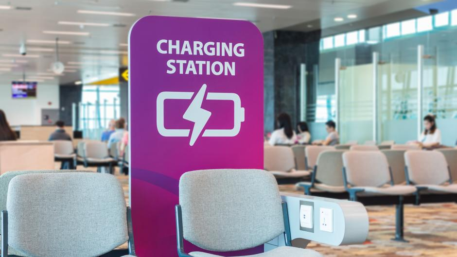 Charging Stations in Airports