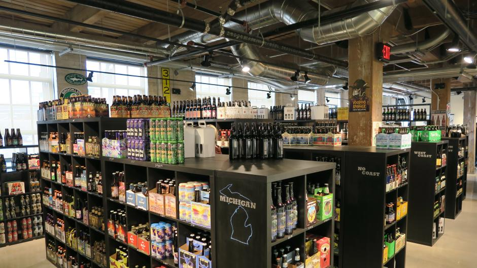 Craft Beer Cellar beer selection
