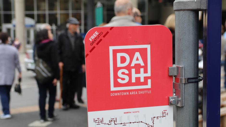 DASH sign
