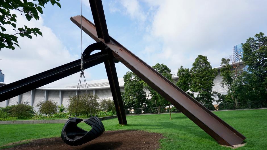 Motu Viget Sculpture