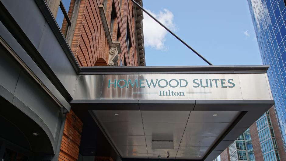 Homewood Suites by Hilton exterior sign
