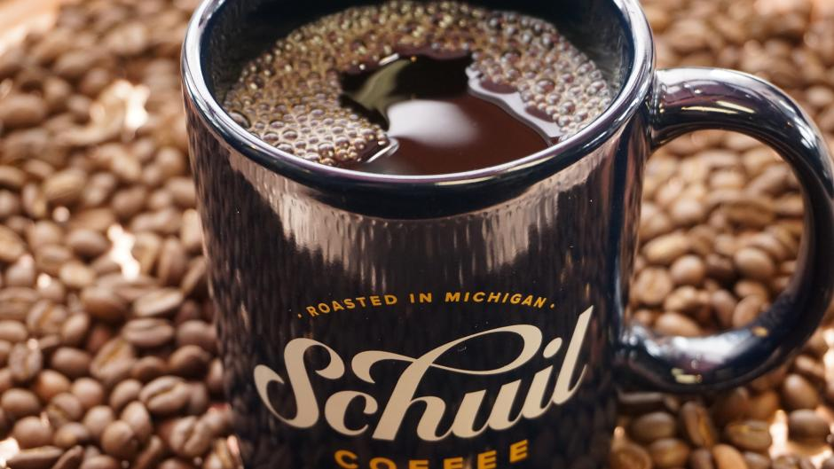 Schuil roasts and sells more than 100 different types of coffee