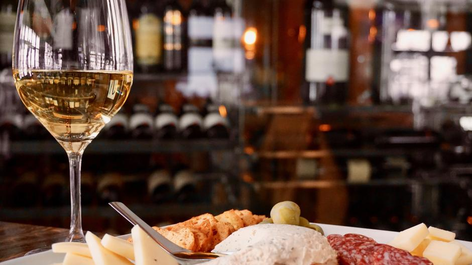 Wine and Cheese at Cork Wine & Grille