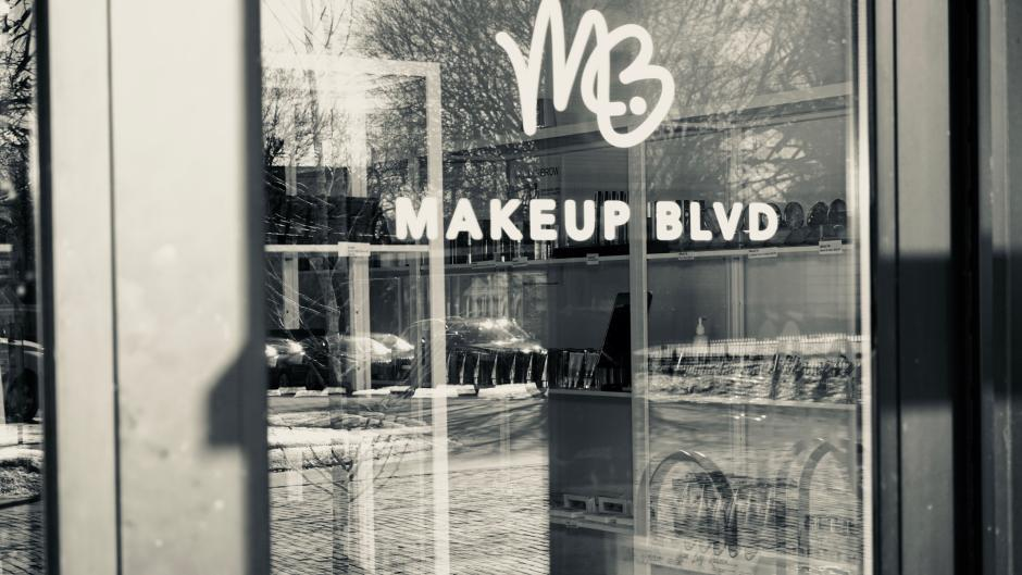 Makeup BLVD provides hair and makeup services in addition to its locally-sourced products.
